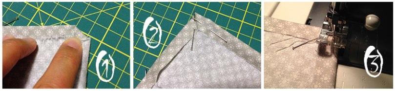 Fragulina cotton bags corners detail
