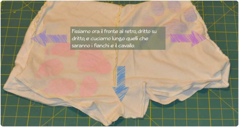 Cucire un paio di pantaloncini fragulina.com