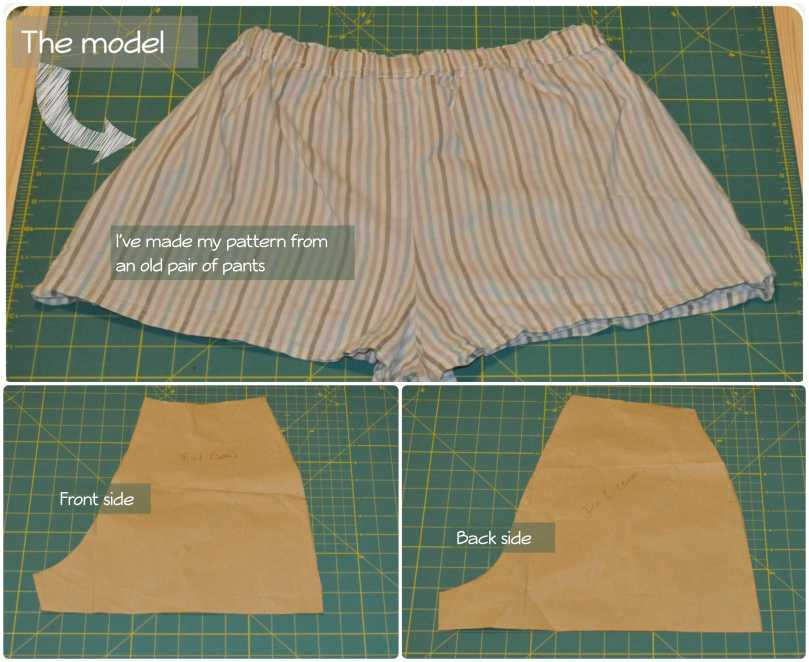 Short pants how to fragulina.com