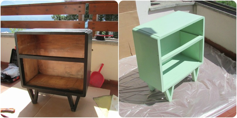 paint old cabinet