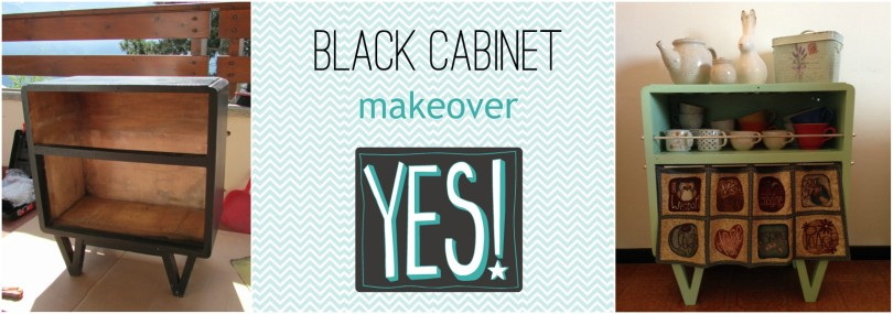 black cabinet makeover @fragulina