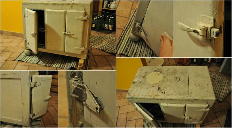Icebox restoration: starting point