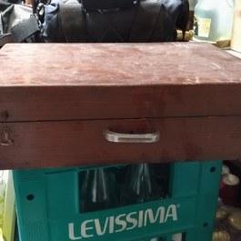 Wood Suitcase